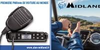 LA PREMIERE PMR446 DE VOITURE AU MONDE !